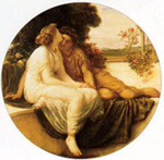 Lord Frederick Leighton - Acme and Septimus, 1868