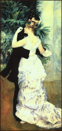 Pierre Auguste Renoir - Dance in the City