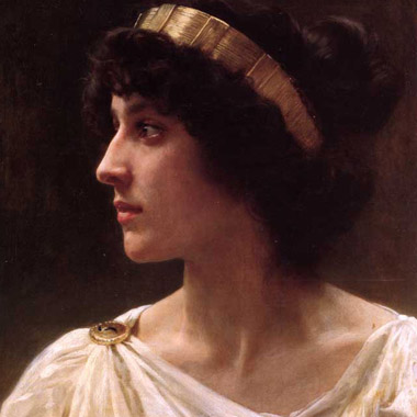 William Bouguereau -  Irene, 1897
