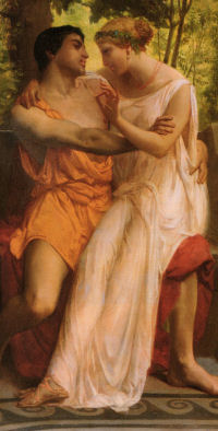 William Bouguereau - L'idylle