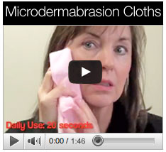 Skin Biology's Microdermabrasion Cloth - How To Video